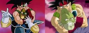 Bardock likes going for the neck