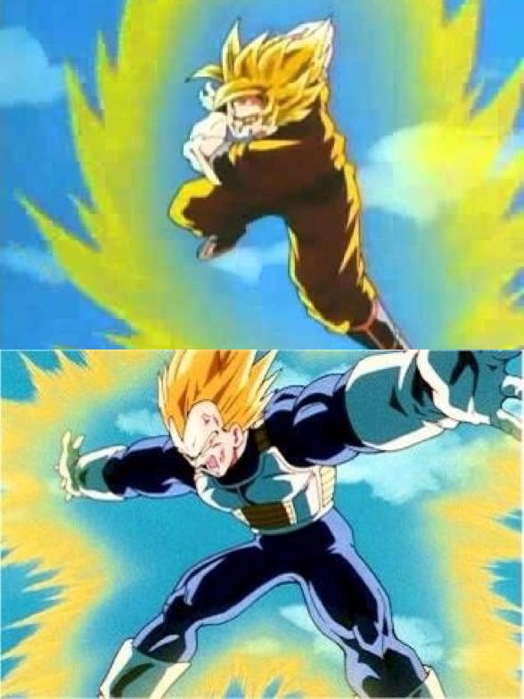 10544478 958879587471493 1436236195 N Goku Used His Warp Kamehameha Wave Against Him In The Cell Games And Vegeta Launched Final Flash
