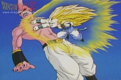Dragon Ball Z: Kid Gotenks vs. Adult Gotenks | JTunesMusic