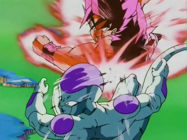 Dragon ball z is super saiyan 3 goku more powerful than for Freezer piccolo