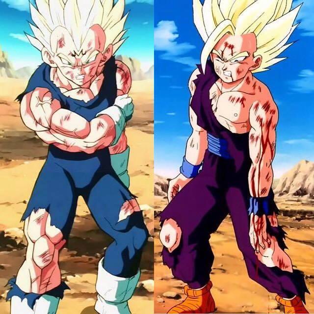 Dragon ball z majin vegeta vs super saiyan 2 teen gohan - Vegeta super sayen 2 ...